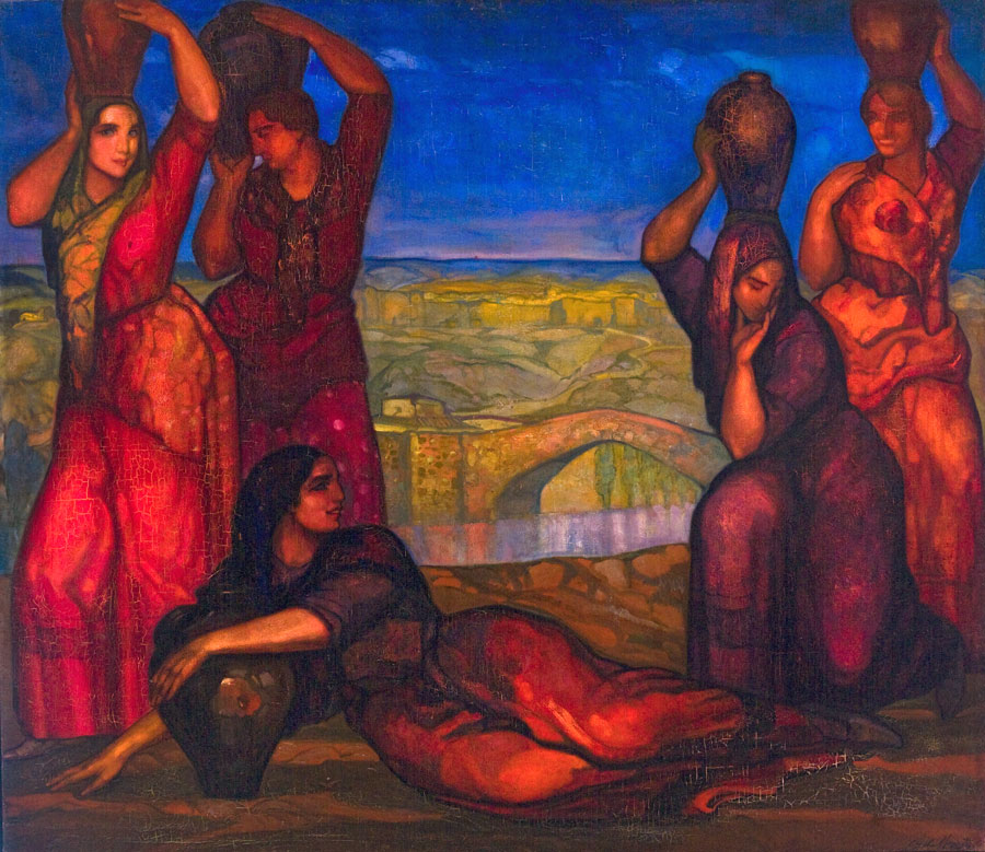 Las Samaritanas. ID 065. Corpus Online Museo Gustavo de Maeztu