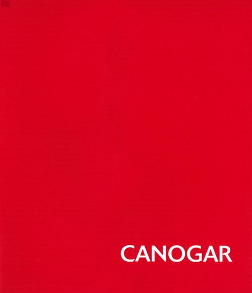 Canogar. Catalogos museo Gustavo de Maeztu
