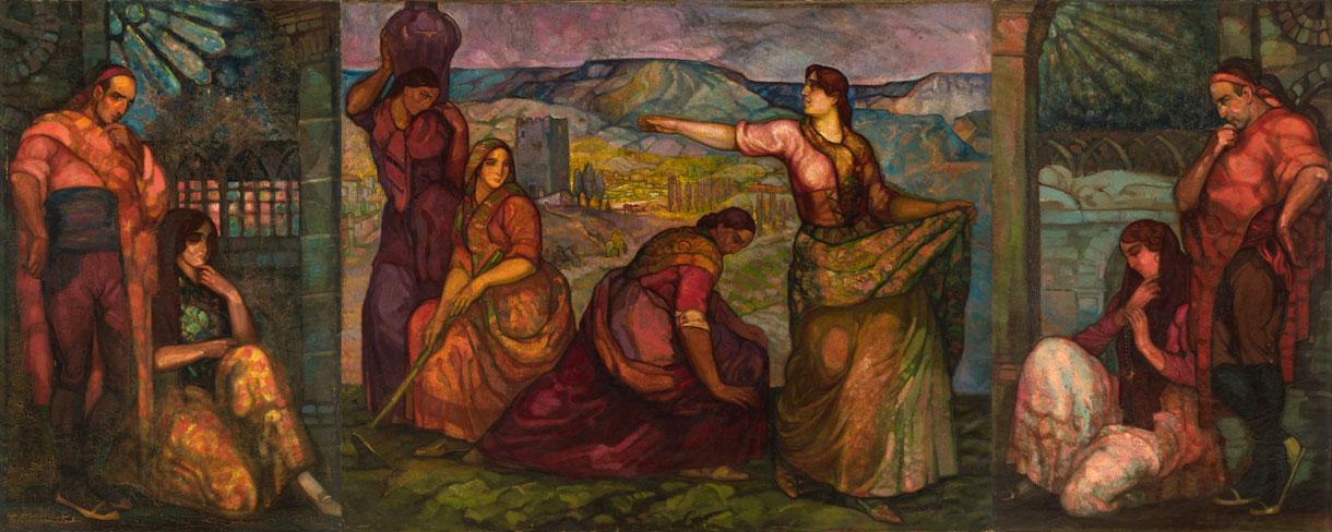 La tierra ibérica. ID 567. Corpus Online Museo Gustavo de Maeztu